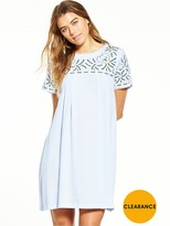 Little White Lies Fleur Dress - Blue