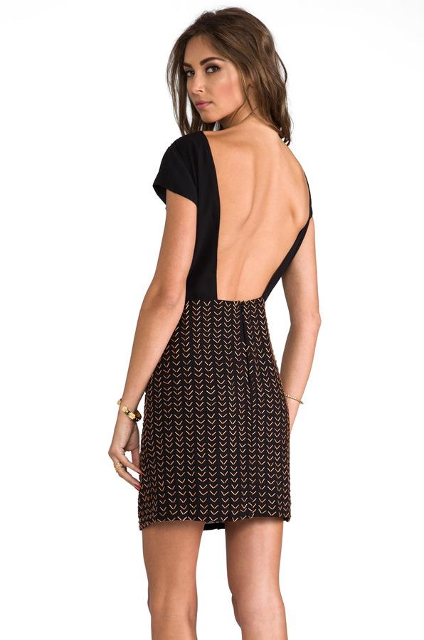 6 Shore Road Miracle Cap Sleeve Mini Dress
