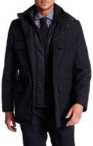 Andrew Marc Sheffield Hooded Coat