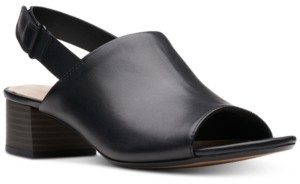 Clarks Collection Women's Elisa Lyndsey Slingback Sandals, Created for Macy's Women's Shoes