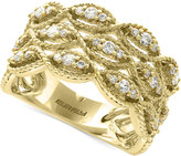 Effy D'Oro by Diamond Filigree Ring (1/2 ct. t.w.) in 14k Gold