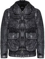 Stone Island Shadow Metallic Effect Hooded Jacket