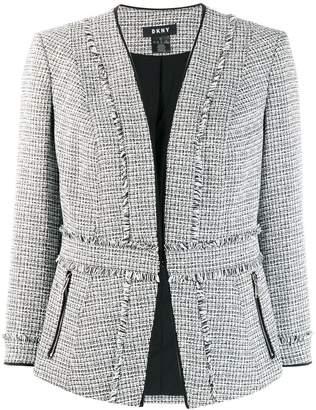 DKNY open front jacket