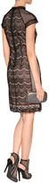 Collette Dinnigan Beaded Lace Dress in Black