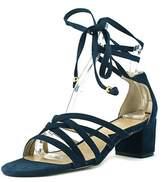Adrienne Vittadini Alesia Open Toe Suede Sandals.