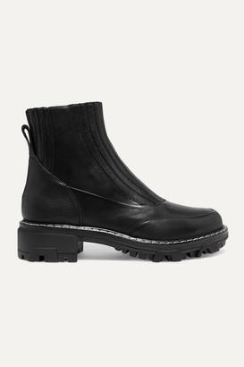 Rag & Bone Shawn Leather Chelsea Boots - Black