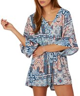 MinkPink Marrakech Batwing Playsuit