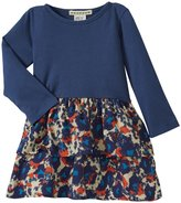 Anthem of the Ants Cha Cha Ruffle Dress (Baby) -Painted Floral-12 Months