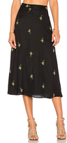 House Of Harlow x REVOLVE Luna Midi Skirt in Black