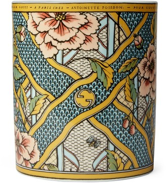 Gucci Mehen, XXL floral print candle