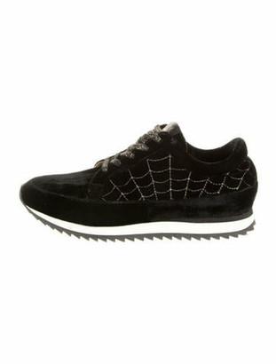 Charlotte Olympia Printed Sneakers Black