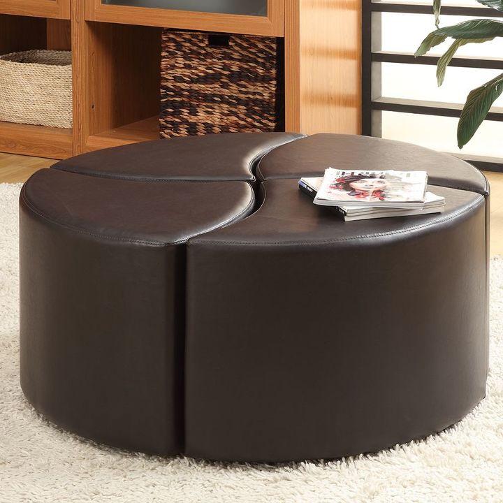 Homevance coffee table ottoman