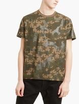 Valentino Khaki Camustar Cotton T-shirt
