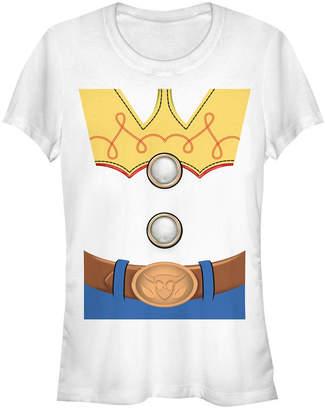Fifth Sun Disney Pixar Women Toy Story Jessie Costume Short Sleeve Tee Shirt