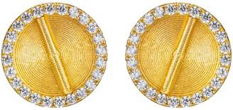 Aflé Bijoux Sparkle Akan Clip On Earrings Large