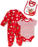 Baby Starters Baby Boys 3-9 Months Christmas Reindeer Printed Layette Set