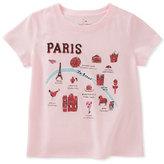 Kate Spade Paris Map Tee, Size 7-14