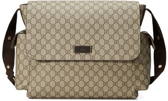 Gucci Kids GG Supreme diaper bag