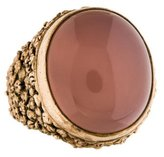 Stephen Dweck Rose Quartz Cocktail Ring