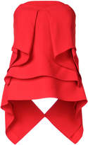 Roland Mouret sleeveless ruffle top