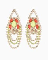 Charming charlie Bermuda Shimmer Statement Earrings