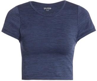 Splits59 Mila Seamless Short-Sleeve Cropped Top
