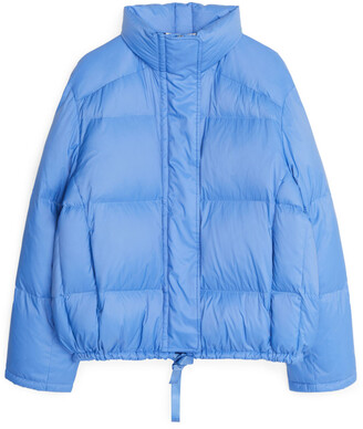 Arket Cropped Down Puffer Jacket