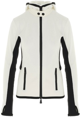 MONCLER GRENOBLE Logo Zipped Fleece Jacket