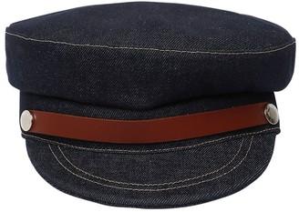 J.W.Anderson Cotton Denim Captain's Cap