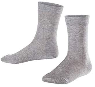 Falke Kids Cotton Finesse Socks - 80% Cotton,UK 3-5 (Manufacturer size: 35-38), 1 Pair