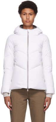 Herno White Down Gore-Tex Windstopper Jacket