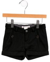 Bonpoint Girls' Wool Mini Shorts