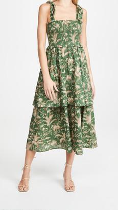 La Vie Rebecca Taylor Sleeveless Talita Smock Dress
