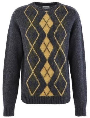 Norse Projects Birnir Argyle jumper