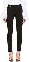 Dolce & Gabbana Black High-Waisted Skinny Jeans