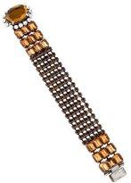 Miu Miu Crystal Link Bracelet