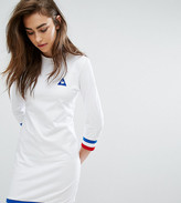 Le Coq Sportif Exclusive To Asos Sweat Dress With Tricolor Tipping