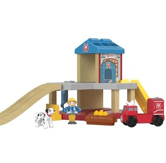 Thomas & Friends Fisher-Price Wood SSRC Rescue Firehouse