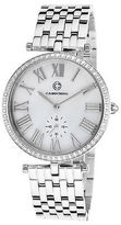 Cabochon 16389-22 Women's Carlita Stainless Steel White Mother of Pearl Dial