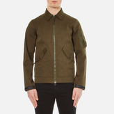 MHI Men's M93 Nylon Flight Jacket Olive