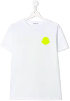 Moncler colour-block logo top