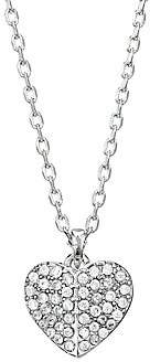Kate Spade Women's Mini Heart Cubic Zirconia Pendant Necklace