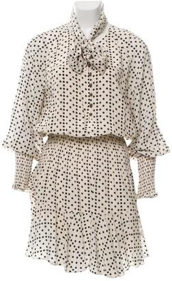 Figue Ecru Silk Dress for Women