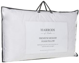Harrods Premium Memory Foam Pillow (Medium/Firm)