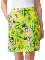 Tommy Bahama Humming A Bloom Linen Skirt