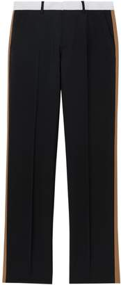 Burberry Stripe Tailored Trousers