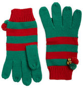 Collection 18 Striped Knit Gloves