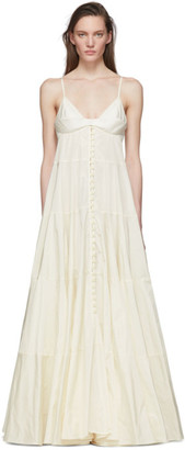Jacquemus Off-White La Robe Manosque Dress