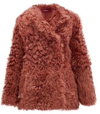 Sies Marjan Pippa Shearling Jacket - Pink