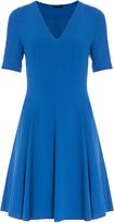 Joseph Crepe Flippy Dress